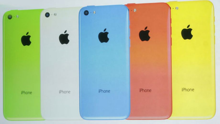 Apple puso color con el iPhone 5C, su smartphone económico